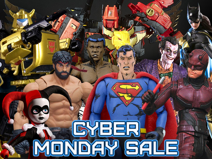 BigBadToyStore Cyber Monday 2018 Sale – Transformers, Marvel, DC, Ghostbusters & More