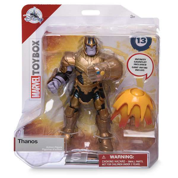 Disney Store Exclusive Marvel's Thanos, Star Wars TIE Fighter & More Toy Box Figures Available Now