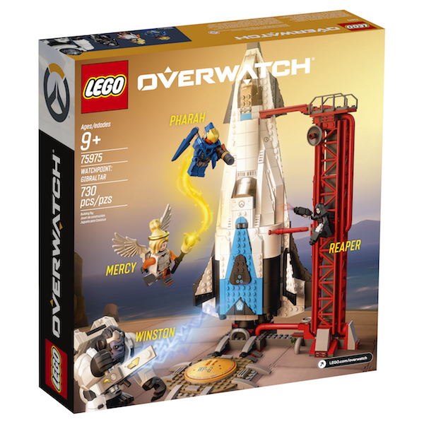LEGO Overwatch Sets Official Press Release