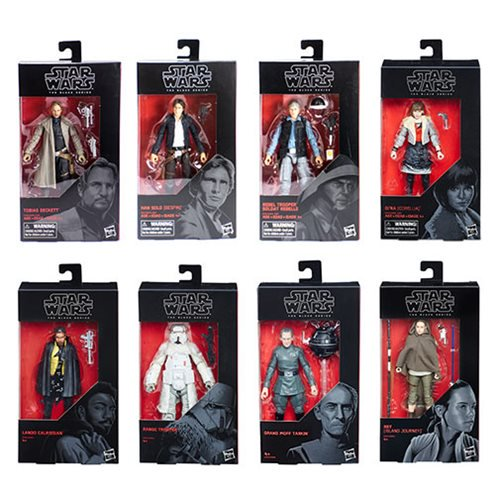 Entertainment Earth – Star Wars The Black Series 6″ Wave 18 Case Now $54.99