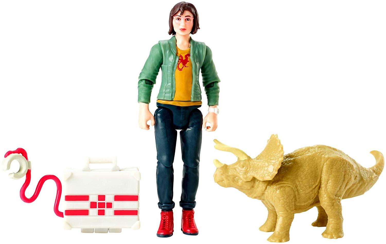 Mattel – Jurassic World: Fallen Kingdom 3 3/4″ Maisie, Zia & Mercenary Claw Capture Figures In-Stock On Amazon