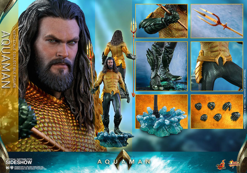 Hot Toys Aquaman Movie Sixth Scale Figure Pre-Orders