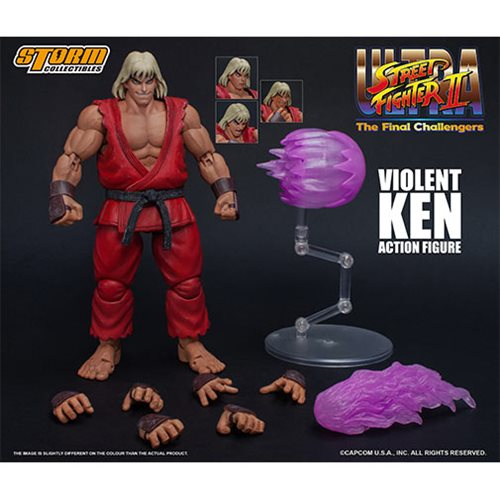 Entertainment Earth Daily Deal – Storm Collectibles Ultra Street Fighter II: The Final Challengers Violent Ken Figure Now $55