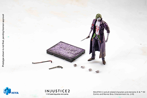 Hiya Toys Injustice 2 The Flash & Joker 1/18th Scale Figure Pre-Orders
