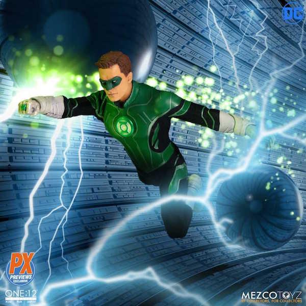 Mezco Toyz One:12 Collective DC Comics – Hal Jordan Green Lantern Figure