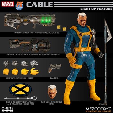 Mezco Toyz One:12 Collective Previews Exclusive Cable Figure