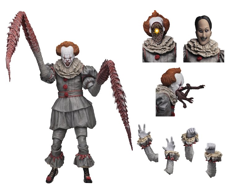NECA Toys Shipping This Week – 1/4″ Scale Shredder, Predator, Godzilla & Dancing Pennywise