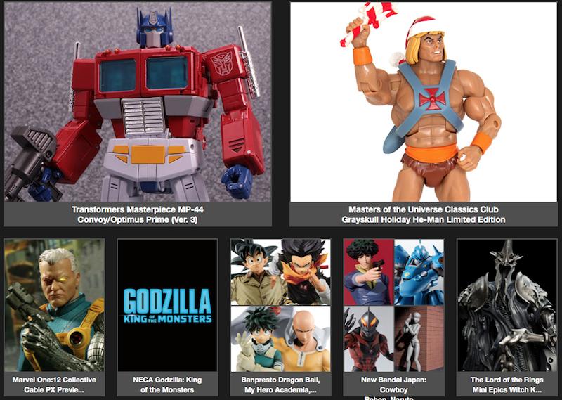 BigBadToyStore News – TF Masterpiece, One:12, Marvel Legends, Cowboy Bebop, Godzilla, Street Fighter, Ali & More