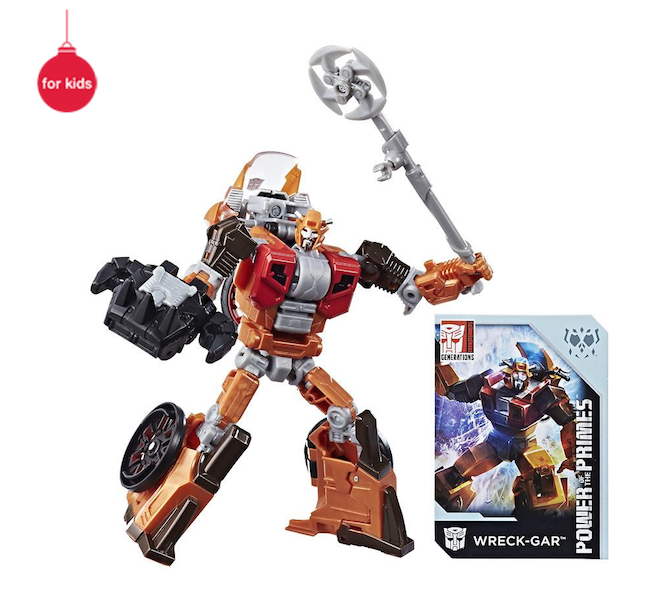 Walgreens Exclusive Transformers Generations Power Of The Primes Deluxe Wreck-Gar Now $15.29
