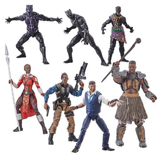 Kokomo Toys eBay Store – Hasbro Marvel Legends 6″ Black Panther Wave 2 Figures For $15-$17