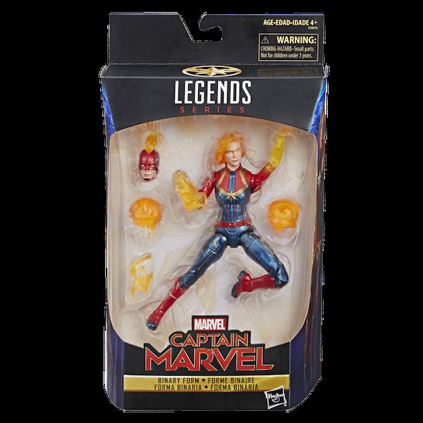 Hasbro Marvel Legends 6″ Captain Marvel Movie – Binary Captain Marvel Figure Now $11 On Amazon