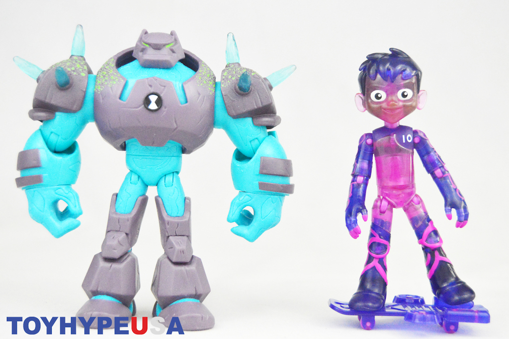 Playmates Toys Ben 10 – Glitch Ben Figure Review