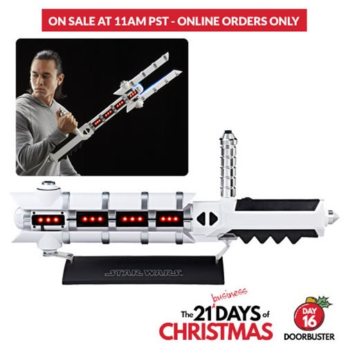 Entertainment Earth Doorbuster Sale – Star Wars The Black Series Force FX Z6 Riot Control Baton