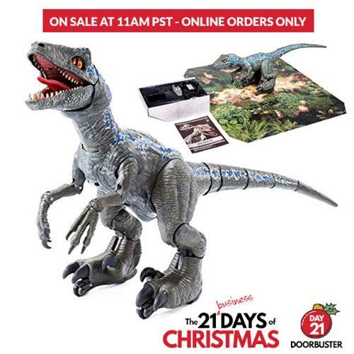 Entertainment Earth Doorbuster Daily Deal – Jurassic World: Fallen Kingdom Alpha Training Blue