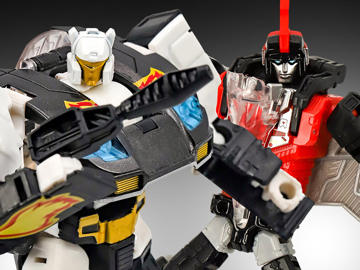 Hasbro Transformers Power Of The Primes Ricochet & Swoop (Red) Figures Available Now