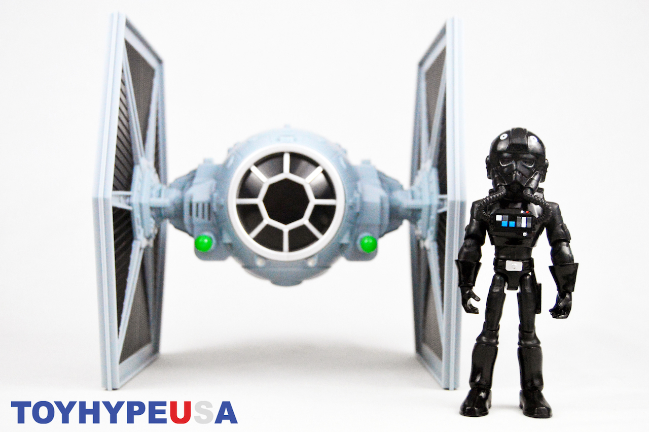 Disney Store Exclusive Star Wars Toy Box TIE Fighter Vehicle & TIE Pilot Review