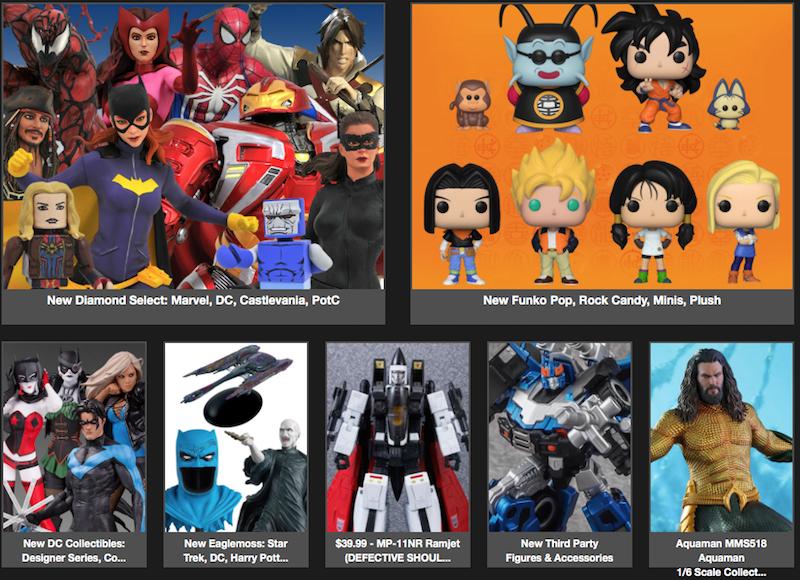 BigBadToyStore News – Transformers, Marvel, DC, Godzilla, Funko, Overwatch, MOTU, Friday the 13th & More