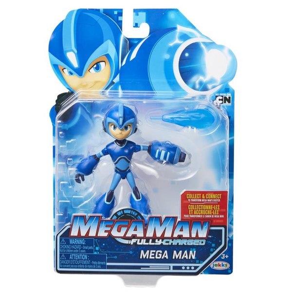 Jakks Pacific Mega Man: Fully Charged Animated Toyline