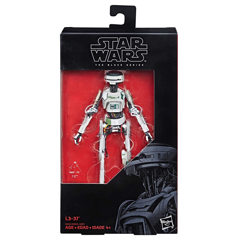 Hasbro Star Wars The Black Series 6″ L3-37  Figure On Amazon For $19.99