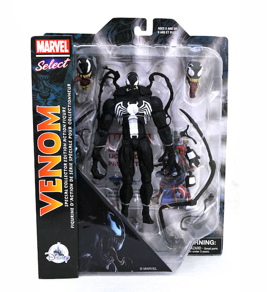 Diamond Select Toys Exclusive Marvel Select Venom Figure Is Now At The Disney Store