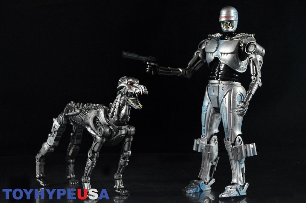 NECA Toys Robocop Vs Terminator EndoCop & Terminator Dog 2-Pack Review