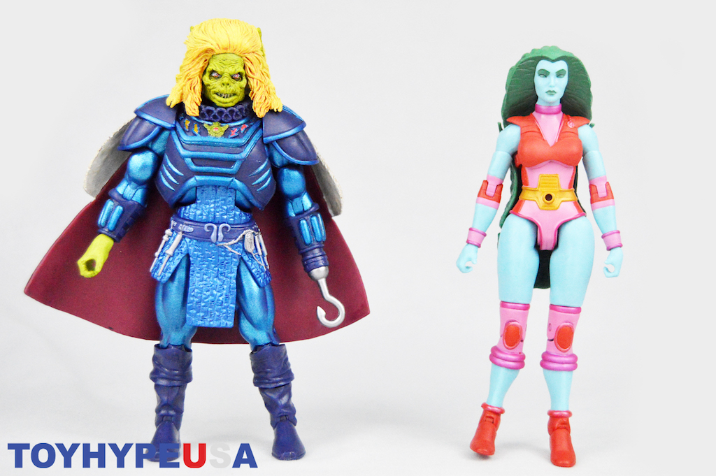 Super7 Masters Of The Universe Classics Granita & Karg Figures Review