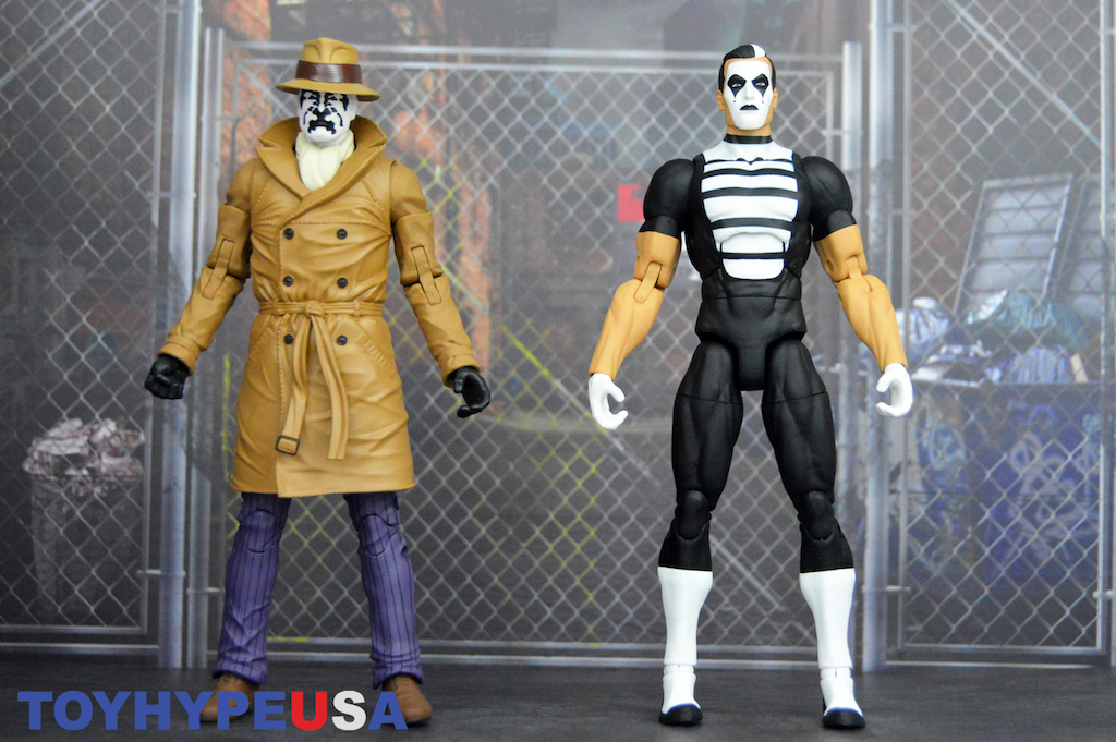DC Collectibles Doomsday Clock Rorschach & Mime 2 Pack Figures Review
