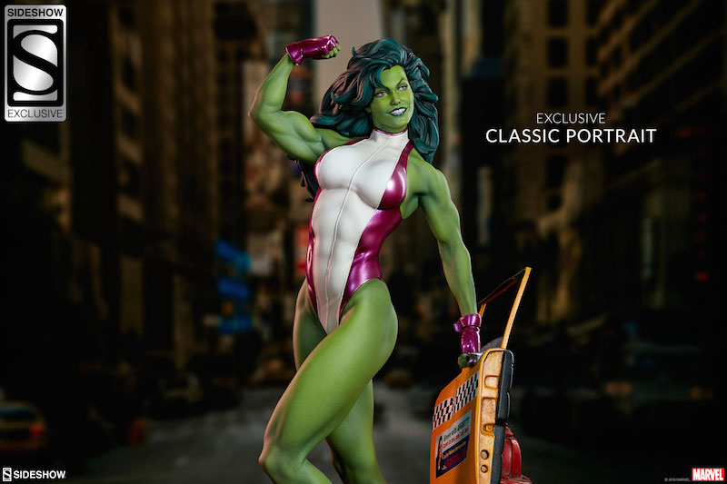Sideshow Collectibles Marvel Comics She-Hulk Statue Pre-Orders