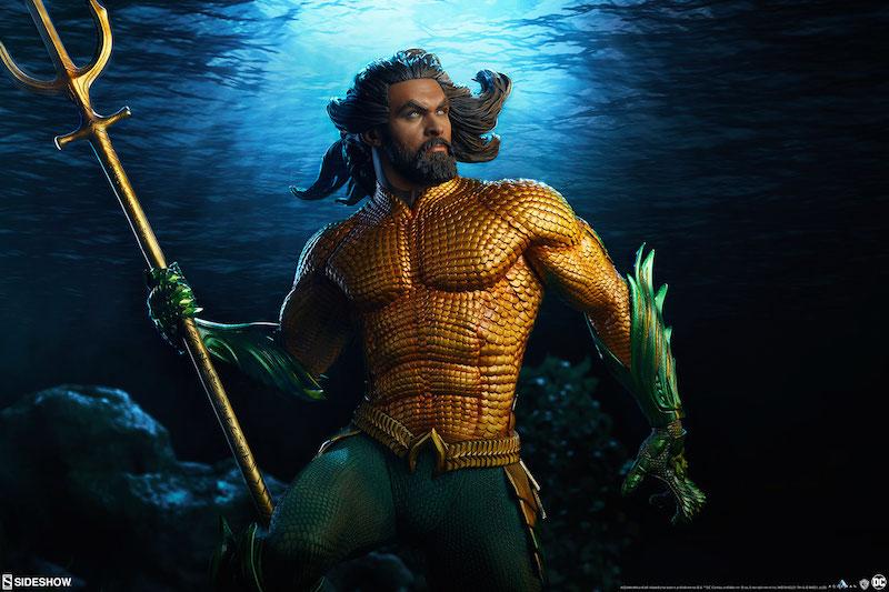 Sideshow Collectibles Aquaman Movie Premium Format Figure Pre-Orders