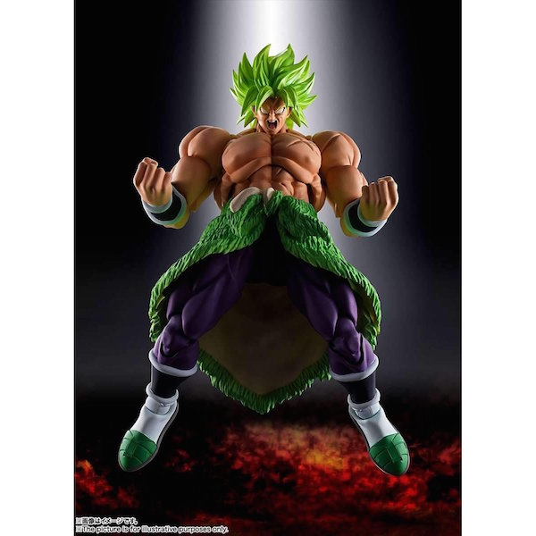 S.H. Figuarts Dragon Ball Super: Broly Figure Now Shipping From Amazon