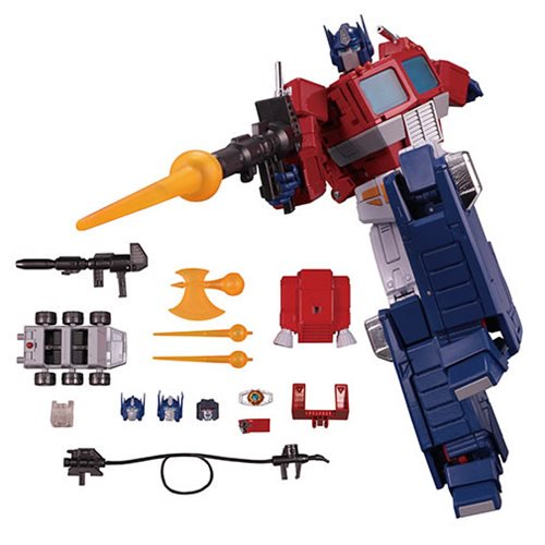 Transformers Masterpiece MP-44 Convoy/Optimus Prime Version 3 Available Now