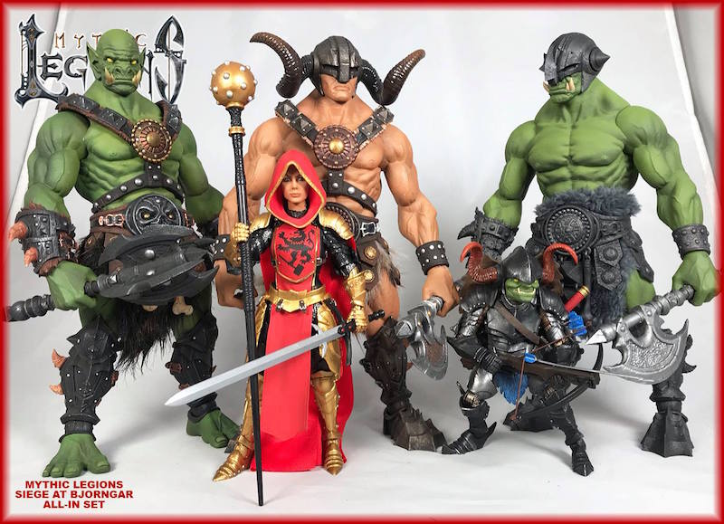 Four Horsemen Studios Mythic Legions: Siege At Bjorngar Figures Now Shipping
