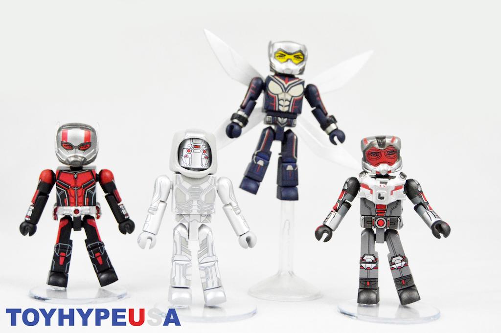 Diamond Select Toys – Marvel Movie Minimates Ant-Man & The Wasp Box Set Review