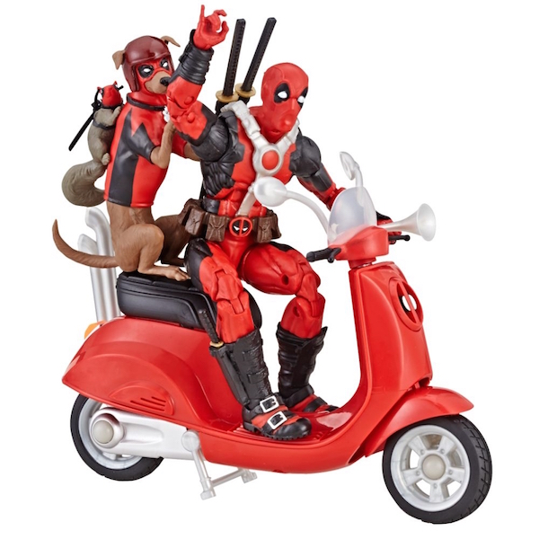 Entertainment Earth Daily Deal – Marvel Legends Ultimate Deadpool Corps 6″ Figure With Scooter Now $25.99