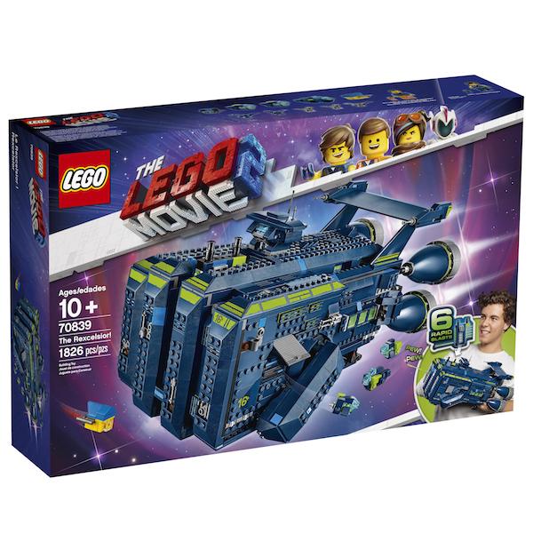 LEGO Reveals The LEGO Movie 2 The Rexcelsior! Construction Set