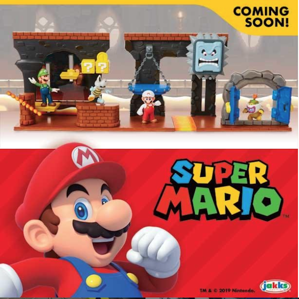 Jakks Pacific Announces Super Mario Playset Coming Soon