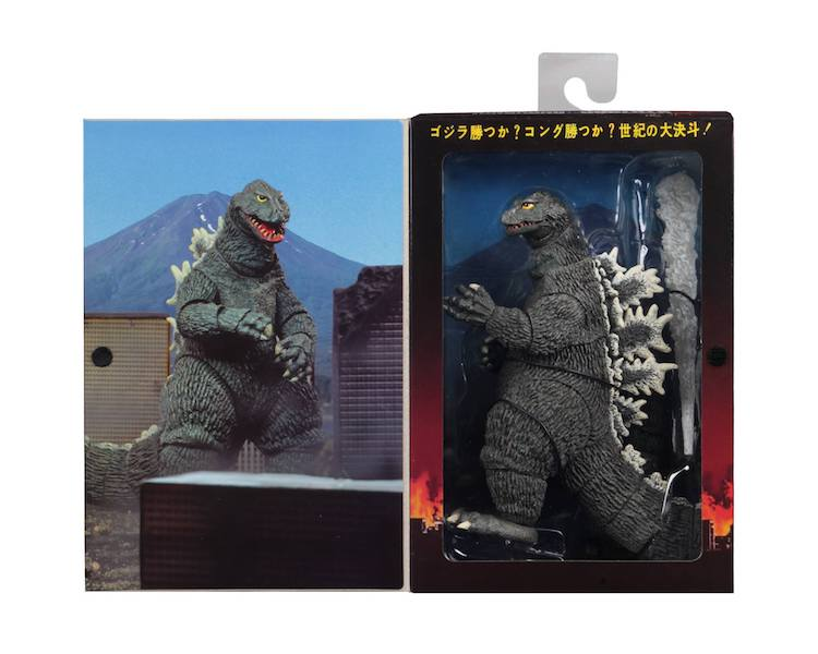 NECA Toys 1962 Godzilla – 12″ Head To Tail Godzilla Figure In-Packaging