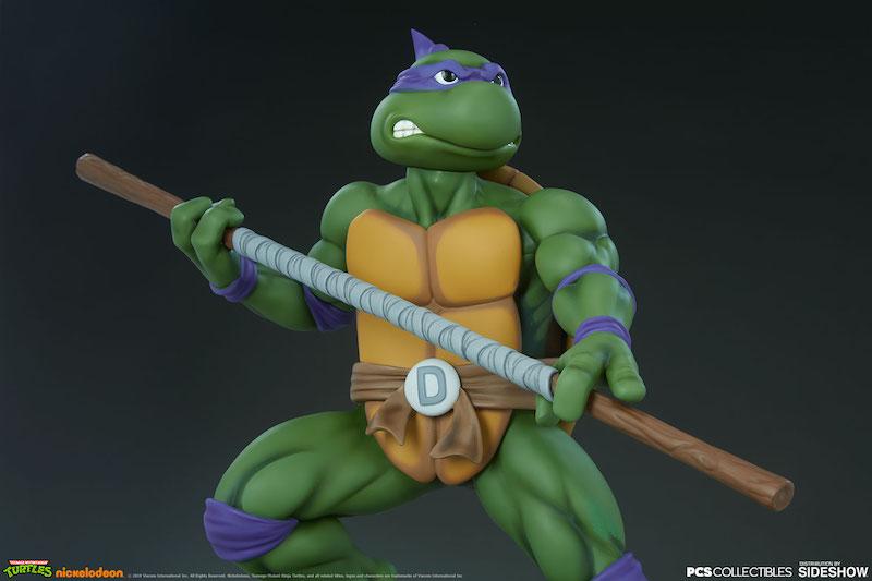 Pop Culture Shock Teenage Mutant Ninja Turtles Donatello 1:4 Scale Statue Pre-Orders