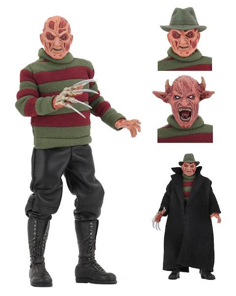 NECA Toys – A Nightmare On Elm Street 8″ Clothed New Nightmare Freddy Figure Available Now