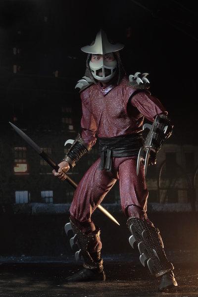 NECA Toys Teenage Mutant Ninja Turtles 1/4″ Scale Shredder Figure Revealed