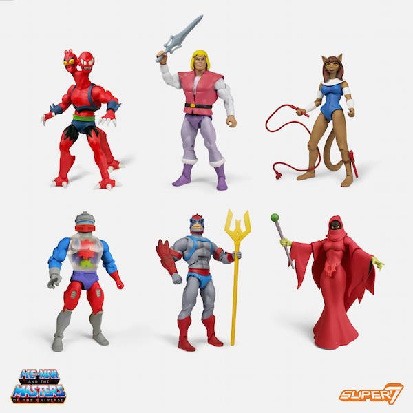 BigBadToyStore – Super7 Masters Of The Universe Classics Club Grayskull Wave 4 Figure Pre-Orders