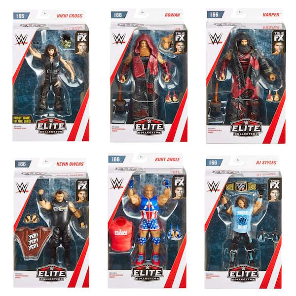 Mattel – WWE Elite Series 66 Figures In-Stock On Amazon