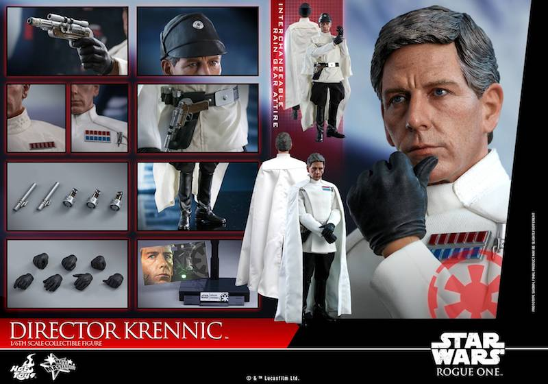 Hot Toys Rogue One: A Star Wars Story Director Krennic Sixth Scale Figure Pre-Orders