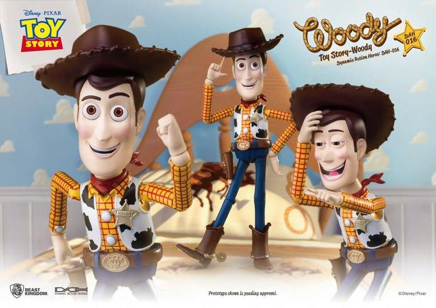 Beast Kingdom – Toy Story Dynamic 8ction Heroes Buzz Lightyear & Woody Figures
