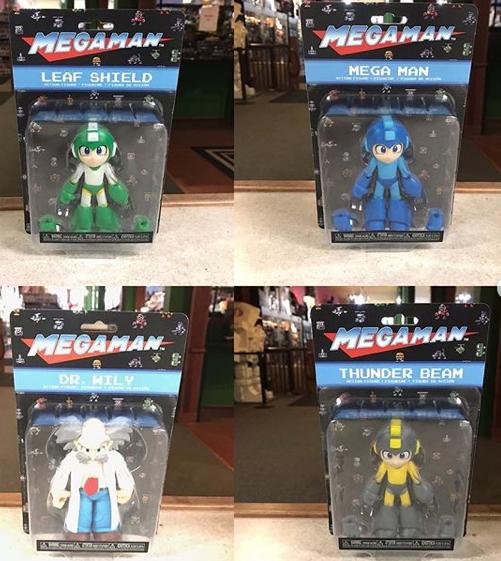 Kokomo Toys eBay Store – Funko Mega Man 3.75″ Figures In-Stock