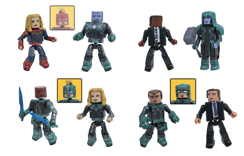 Captain Marvel Soars Into Walgreens Stores With New Minimates
