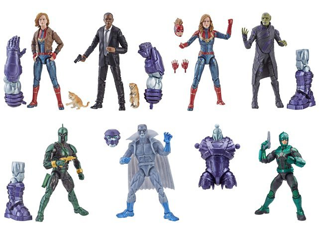 Entertainment Earth Daily Deal – Captain Marvel Movie 6″ Marvel Legends Case Assortment Now $109