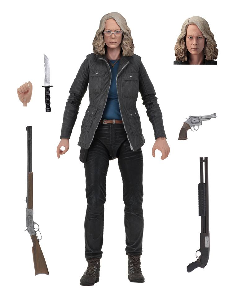 NECA Toys Halloween 2018 Ultimate Laurie Strode Figure Available Now