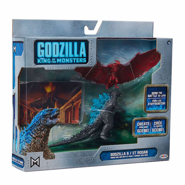 Jakks Pacific Godzilla: King Of The Monsters Toys Exclusive To Wal-Mart Stores