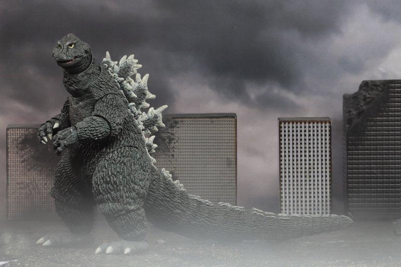 NECA Toys 1962 Godzilla – 12″ Head To Tail Godzilla New Figure Images